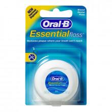 Зубная нить Oral-B Essential вощеная, 50 м в Санкт-Петербурге
