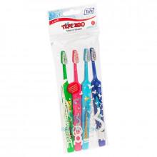 Зубные щетки TePe Zoo Select набор, 4 шт в Санкт-Петербурге