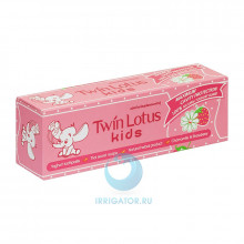 Зубная паста Twin Lotus Kids (клубника и ромашка) 3-10 лет, 50 гр в Санкт-Петербурге