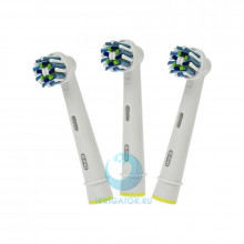 Насадки Braun Oral-B CrossAction, 3 шт в Санкт-Петербурге