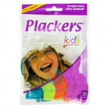 Флоссер Plackers Kids, 28 шт. в Санкт-Петербурге