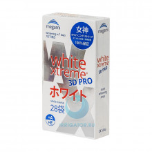 Отбеливающие полоски Megami White Xtreme 3D PRO, 28шт в Санкт-Петербурге
