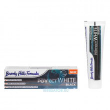 Зубная паста Beverly Hills Formulа Perfect White Black, 100 мл в Санкт-Петербурге