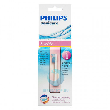 Насадки Philips HX6052 Sensitive Standart, 2 шт