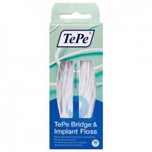Зубная нить TePe Bridge&Imlant Floss, 30 шт в Санкт-Петербурге