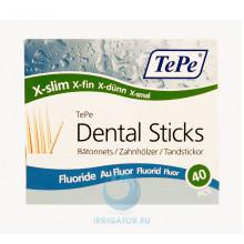 Зубочистки TePe Wooden Fluoride, 40 шт в Санкт-Петербурге
