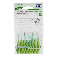 Ершики TePe Interdental Brush extra soft 0.8 мм Green в Санкт-Петербурге