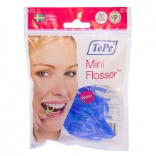 Зубная нить TePe Mini Flosser с держателем, 36 шт в Санкт-Петербурге