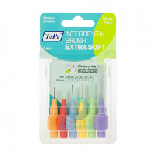 Ершики TePe Interdental Brush extra soft разного диаметра в Санкт-Петербурге