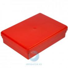 Коробка Dr. Hinz Dental для транспортировки, красная в Санкт-Петербурге