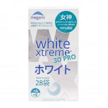 Отбеливающие полоски Megami White Xtreme 3D PRO для чувствительных зубов, 28 шт. в Санкт-Петербурге
