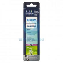 Насадки Philips Premium HX9073/33, 3 шт., черные в Санкт-Петербурге