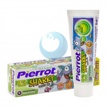 Pierrot Piwy Sharky Gel Детская зубная паста-гель 75 мл в Санкт-Петербурге