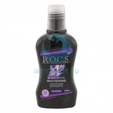 Ополаскиватель R.O.C.S. Black edition whitening, 250 мл в Санкт-Петербурге