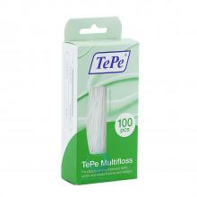 Зубная нить TePe Multifloss 3 в 1, 100 шт. в Санкт-Петербурге