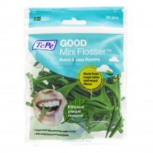 Зубная нить TePe GOOD mini Flosser с держателем, 36 шт в Санкт-Петербурге