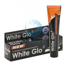 Зубная паста White Glo отбеливающая экстрасильная с углем, 100 гр  в Санкт-Петербурге