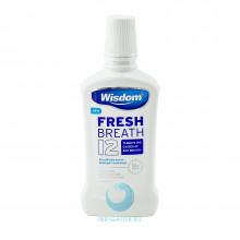 Ополаскиватель Wisdom Fresh Breath 12 антибактериальный, 500 мл в Санкт-Петербурге